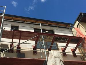 Konstrukce balkónu